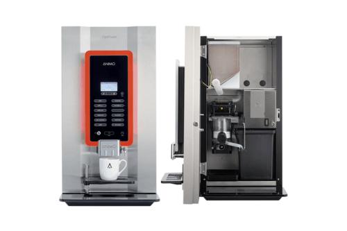 Optifresh koffiemachine RVS