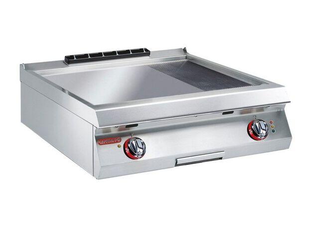 1G0FT3E-koken-bakplaat-70cm-geribbeld-glad-elektrisch-Angelo-Po